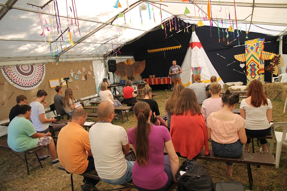 Objevování křesťanství pro mládež SOUL na XcamPu